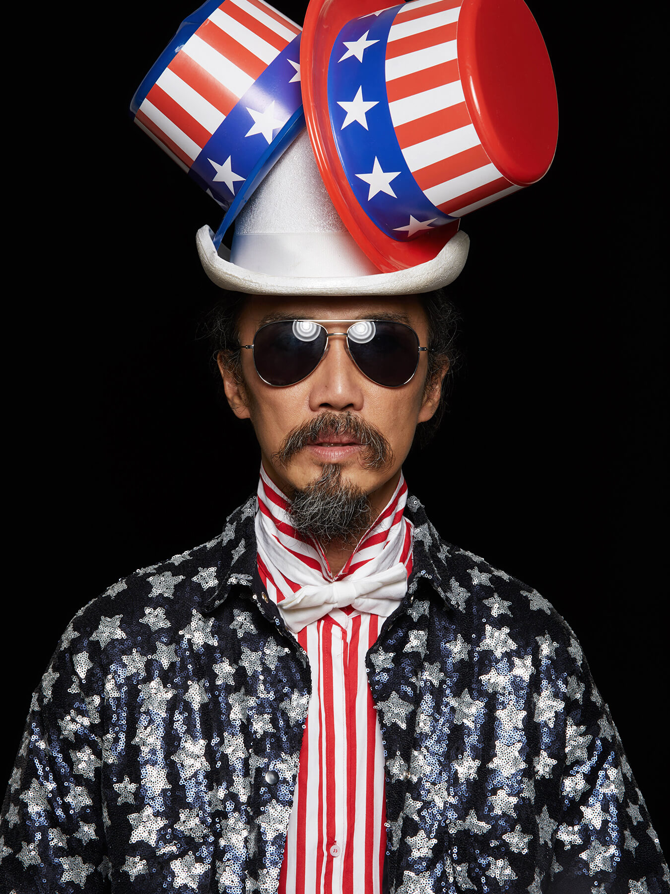 13 Sep 2017: Derong is styled as Uncle Sam