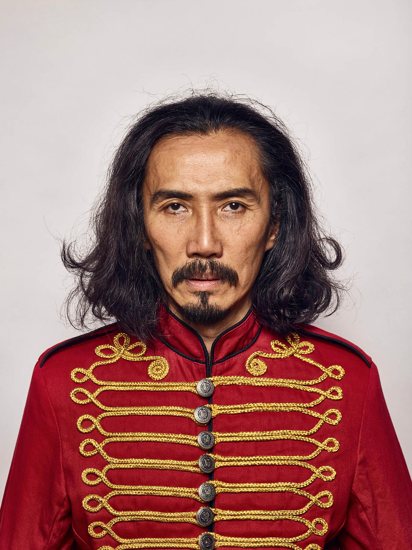 10 Sep 2017: Derong is styled as Sgt Pepper