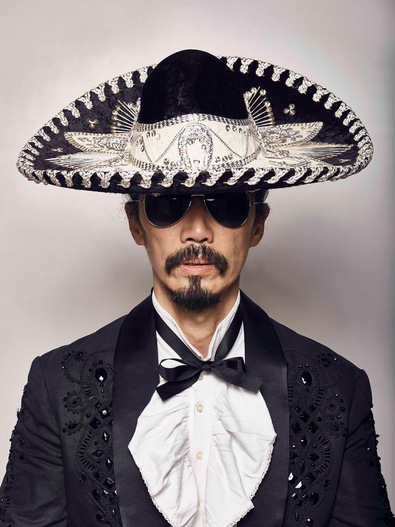 15 Sep 2017: Derong is styled in a charro suit to mark Independence Day in Mexico