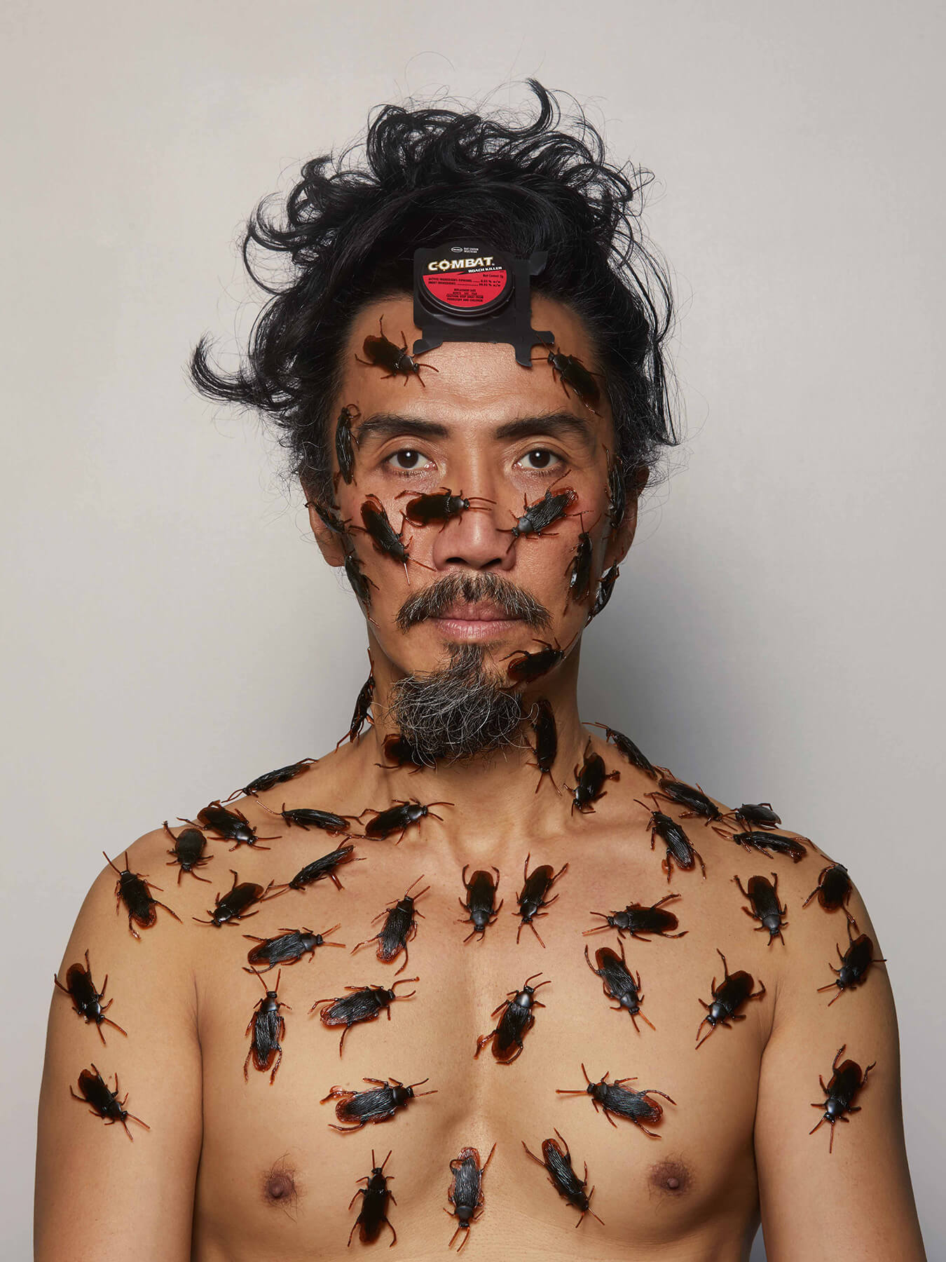 16 Jan 2018 Derong has cockroaches crawling all over his face and body